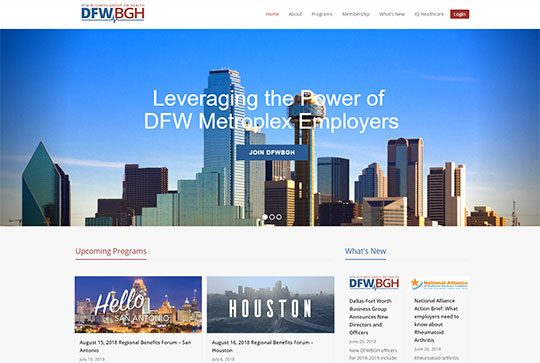 DFW BUSINESS GROUP ON HEALTH